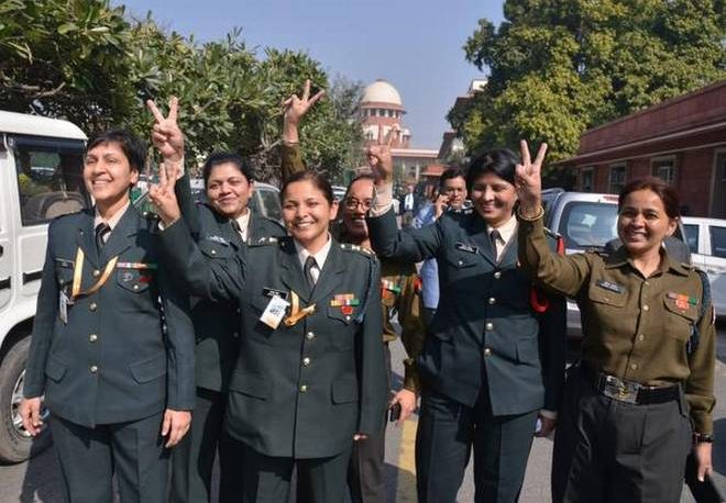 Permanent commission for Women Officers