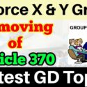 Article 360 Air force x/y GD topics